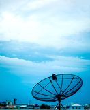Telecom in the sky Royalty Free Stock Photo