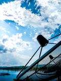 Telecom in the sky Stock Images