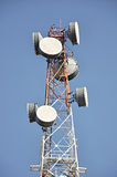 Telecom tower Stock Photography