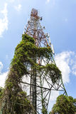 Telecom tower Stock Photo