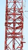 Telecom tower closeup . Stock Photos