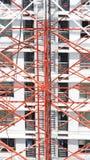 Telecom tower closeup . Royalty Free Stock Photography