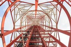 Under Telecom tower Royalty Free Stock Photos