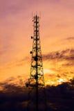 Telecom tower Stock Images