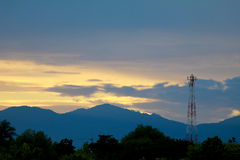 Telecom Tower royalty free stock photo