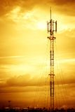Telecom in town Royalty Free Stock Photos