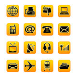 Telecom & transportation Royalty Free Stock Photos