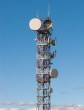 Telecom wierza Zdjęcie Stock