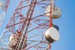 Telecom wierza Obrazy Stock