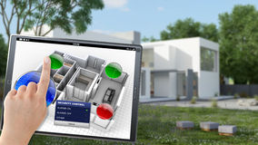 Telecomando della costruzione Fotografie Stock