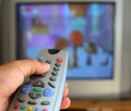 Telecomando della televisione fotografie stock libere da diritti