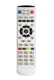 Telecomando della TV isolato su bianco Immagini Stock Libere da Diritti