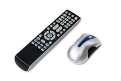 Telecomando e mouse Fotografie Stock