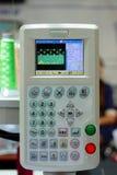 Telecomando per la macchina industriale del ricamo Fotografia Stock