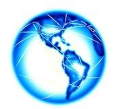 Telecomm on white background Stock Image