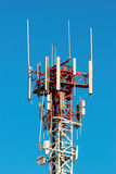 Telecommunicate a coluna Imagem de Stock