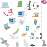 Telecommunicatie vector illustratie