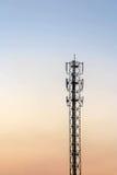 Telecommunicatie cellulaire toren Royalty-vrije Stock Afbeeldingen
