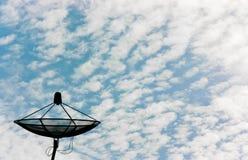 Telecommunicatie in de hemel Stock Fotografie