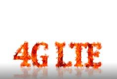 Telecommunicatie LTE. stock illustratie