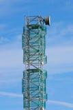 Telecommunicatie mast Stock Afbeeldingen