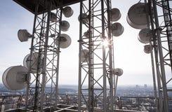 Telecommunicatie toren Royalty-vrije Stock Fotografie