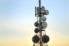 Telecommunicatie toren 8 royalty-vrije stock afbeelding