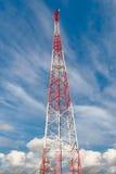 Telecommunicatie, toren Boardcasting Royalty-vrije Stock Foto