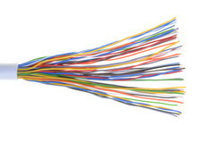 Telecommunicatiekabel Royalty-vrije Stock Foto