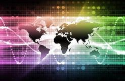Telecommunicaties royalty-vrije illustratie