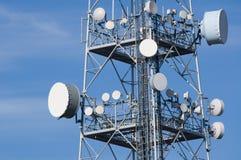 Telecommunicatietoren Royalty-vrije Stock Afbeelding
