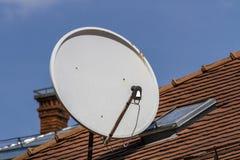 Telecommunication antena Stock Images