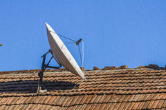 Telecommunication antena Stock Photos