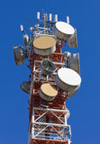 Telecommunication Antenna Royalty Free Stock Image