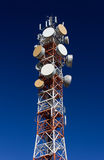 Telecommunication Antenna Royalty Free Stock Photo