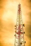 Telecommunication antenna Stock Photography