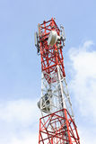 Telecommunication Antenna. Telecommunication antenna services to mobile phone users Royalty Free Stock Photography