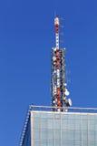 Telecommunication antenna Royalty Free Stock Image