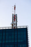 Telecommunication antenna Royalty Free Stock Photography