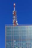 Telecommunication antenna Stock Image