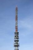 Telecommunication antenna tower Royalty Free Stock Photography