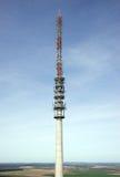 Telecommunication antenna tower Royalty Free Stock Image