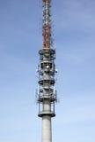 Telecommunication antenna tower Royalty Free Stock Photo