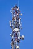 Telecommunication Antennas Stock Images