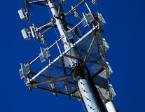 Telecommunication Antennas Stock Images