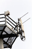 Telecommunication antennas Stock Photos