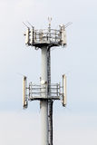 Telecommunication antennas Royalty Free Stock Images