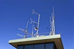 Telecommunication Antennas Royalty Free Stock Photo