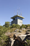 Telecommunication Antennas Stock Image