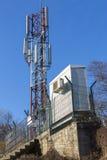 Telecommunication anthenna Stock Images